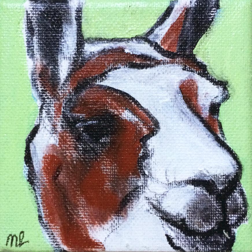 Lama-10x10cm-acryl