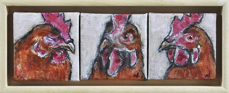 Chickenselfies2-10x30cm-acryl