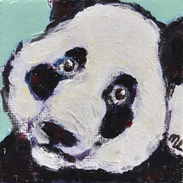 Panda-mini-acryl